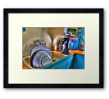 The Dishes Are Done Framed Print