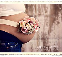 Belly Bouquet}Vintage Rose Buds by Kristen  Caldwell