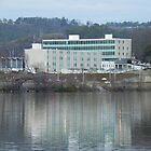 City Hall and Coosa River - Gadsden, AL by ArtistJD