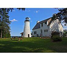 Old Presque Isle Lighthouse Photographic Print