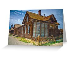 Bodie CA Our House In The Middle Of our Street Greeting Card