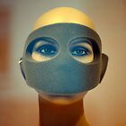 Portrait of  a Masked Female Mannequin 1 by David Crausby