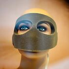 Portrait of a Masked Female Mannequin by David Crausby