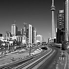 Tracks to the CN Tower by rgstrachan