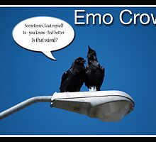 Emo Crow by Lisa Knechtel