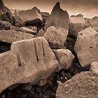 Beach Boulders by StefanFierros