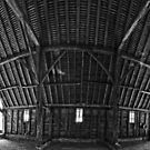 Priors Hall Barn by Nigel Bangert