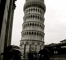 Leaning Campanile by CassandraLaine