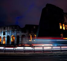 Colosseo at Night by missmacy