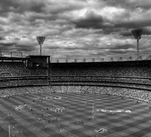 Melbourne Cricket Ground - AFL Grand Final 2010 by MichaelMarner