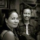 Thai couple by Laurent Hunziker