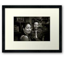 Thai couple Framed Print
