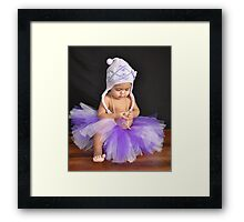 So precious! Framed Print