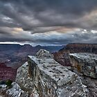 Looking for the Sunrise, Grand Canyon by photosbyflood