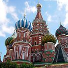 Saint Basil&#x27;s Cathedral In Moscow by Svetlana Day