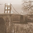 Menai Suspension Bridge, Wales by Michaela1991
