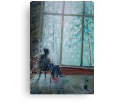 Sviridov. Snowstorm. Romance  /  2010  /  oil on cardboard Canvas Print