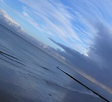Blue Beach, Clacton, Essex by dustyparasol