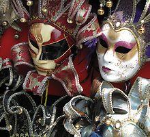 Venice's Masks by branko stanic