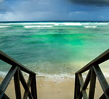 """""""Storm at the Spot"""" - West Island, Cocos (Keeling) Islands by Karen Willshaw"""