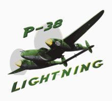 P-38 Lightning by flyoff