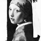 WIP Vermeer Study IV by Jan Szymczuk