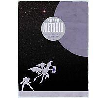 Minimalist Video Games: Super Metroid  Photographic Print