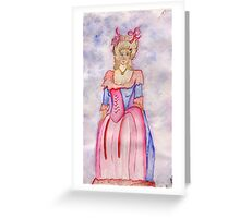 Marie Antoinette Queen of France (1774-1793) Greeting Card