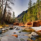 Oak Creek Canyon by Freese