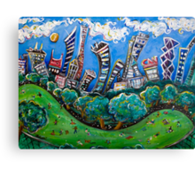 Central Park South Canvas Print