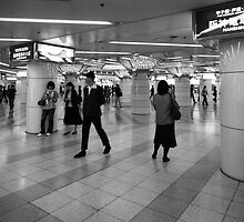 Tokyo Station by Jenni Tanner