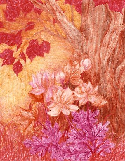 Beautiful Autumnal Macro by Rebecca Tripp