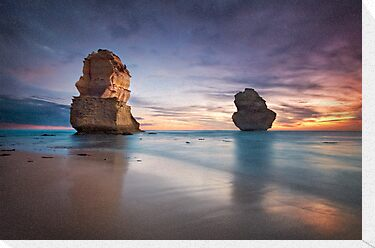 Sunset at the Apostles by Ben Ryan
