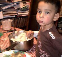 wyatt mixing cookies by bluecrystal93