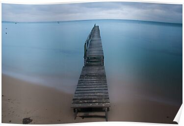 Shelly Beach Portsea by Matt Bishop