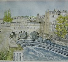 Pultney Bridge, Bath by BathArt