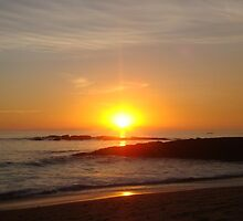 Laguna Beach Sunset by E.E. Jacks