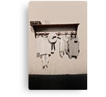 The dress code Canvas Print