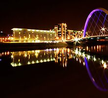 Squinty Bridge Reflection by Katie Grainger