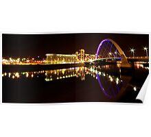 Squinty Bridge Reflection Poster