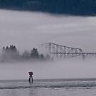 gorge mist 3 by Bruce  Dickson