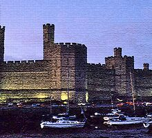 Caernarfon Castle by David Davies