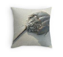 Horseshoe Crab (Limulus polyphemus) Throw Pillow