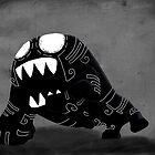 Dark Cute Monster by liper-bomba
