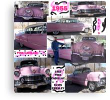 1955, Pink Cadillac, and Elvis Metal Print