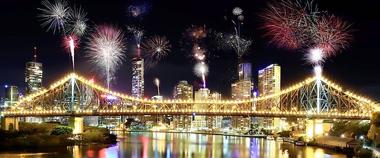 Brisbane Night Show by Shannon Rogers