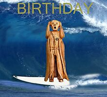 Surfing The Scream World Tour Happy Birthday by Eric Kempson