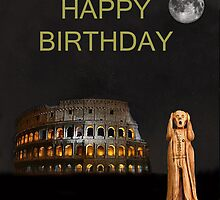 The Scream World Tour Rome Happy Birthday by Eric Kempson