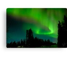 Aurora Display Canvas Print