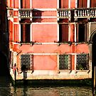 """Venetian Building bathed in the """"Good Light"""" by April Anderson"""